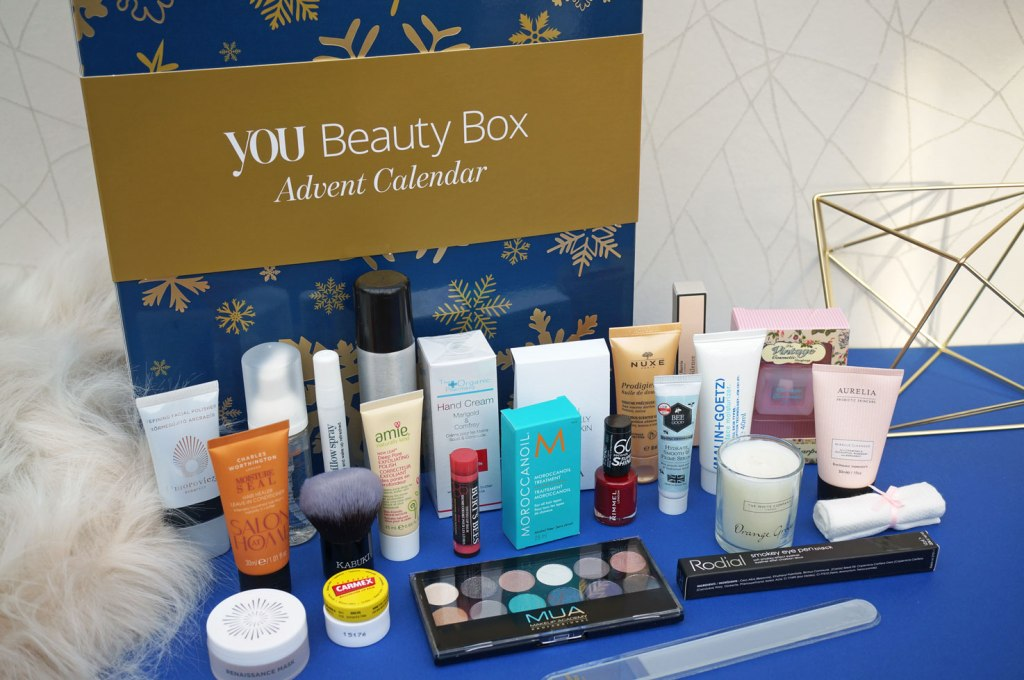 Christmas: You Beauty Box Advent Calendar 2016 #YBBAdvent