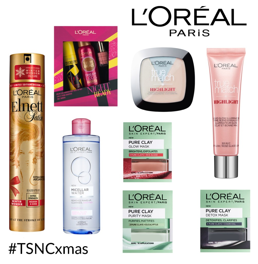 TSNC Advent Giveaway: L'Oreal Paris Bundle! #TSNCxmas