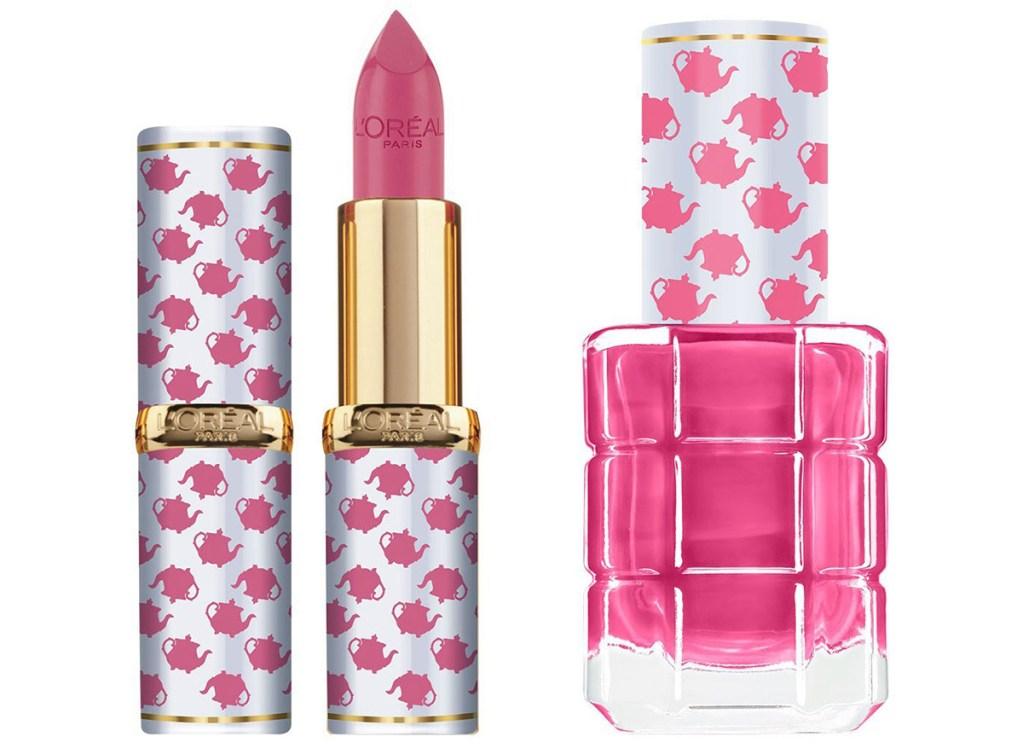 loreal-lipstick-and-nail-polish-mrs-potts