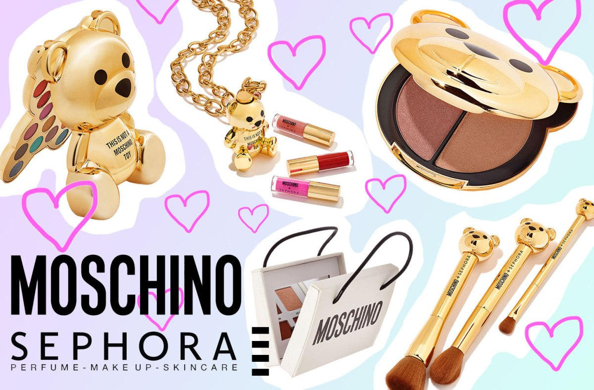 Beauty News: Sephora X Moschino Golden Teddy Collection!