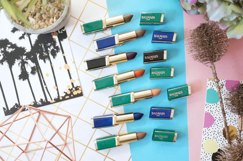 Beauty: L'Oreal Paris X Balmain Color Riche Couture Lipstick Collection