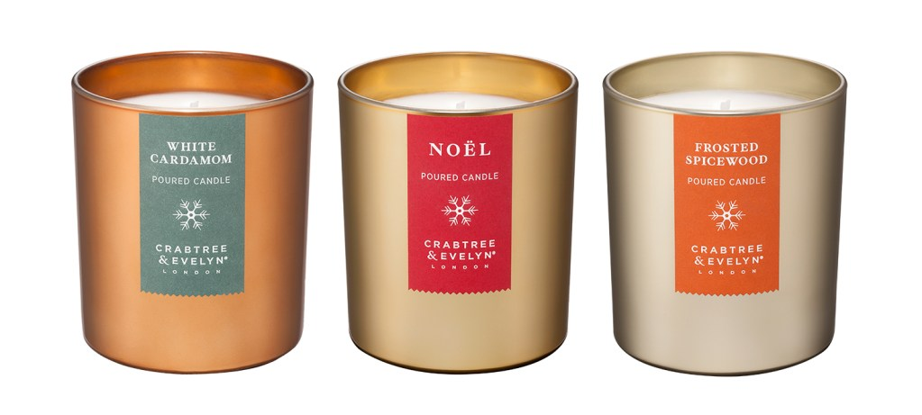 crabtree and evelyn winter candles