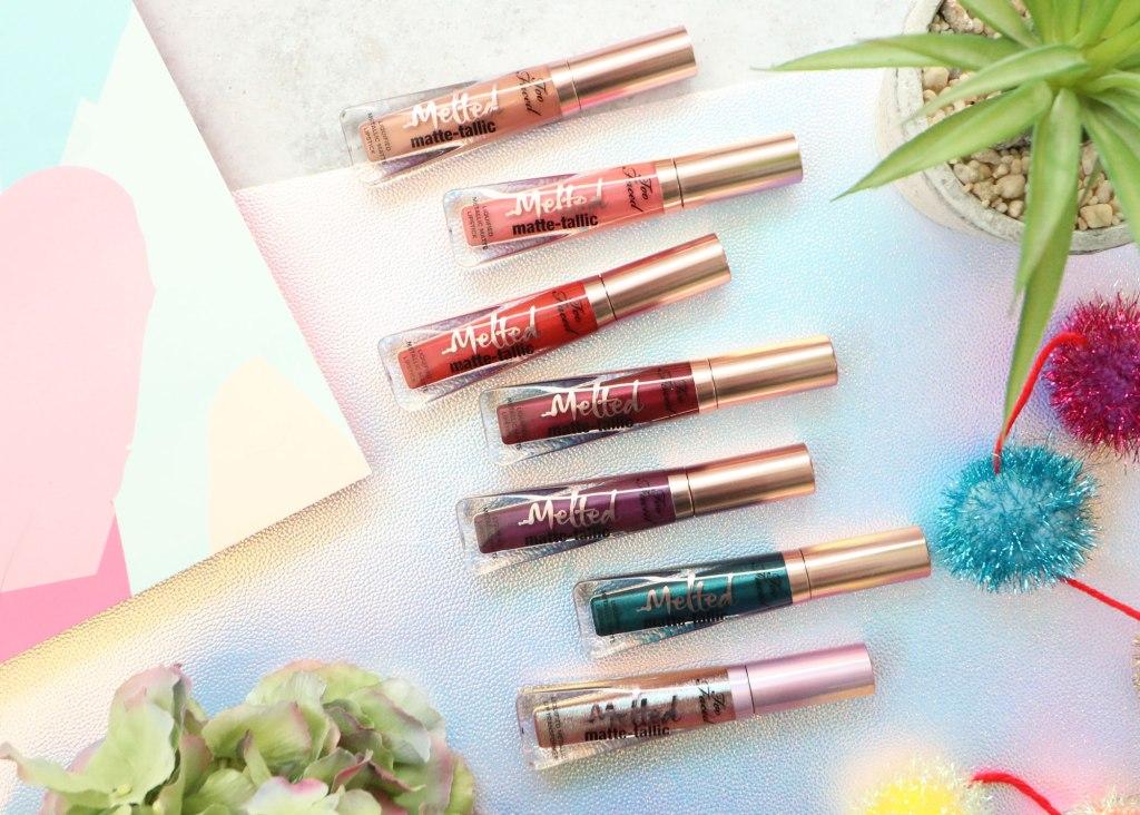Too Faced Melted Matte-tallic Liquid Lipsticks