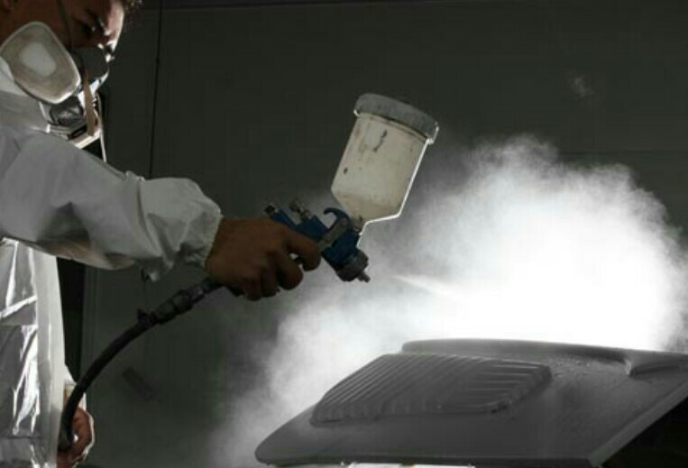 Required Industrial Spray Painter for Bahrain | Thozhil Nedam