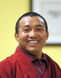 Artist Dhundup Sherpa