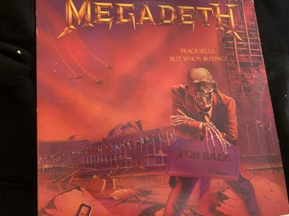 img_0390 img_0391 Megadeth peace sells but who is buying vinyl w2111