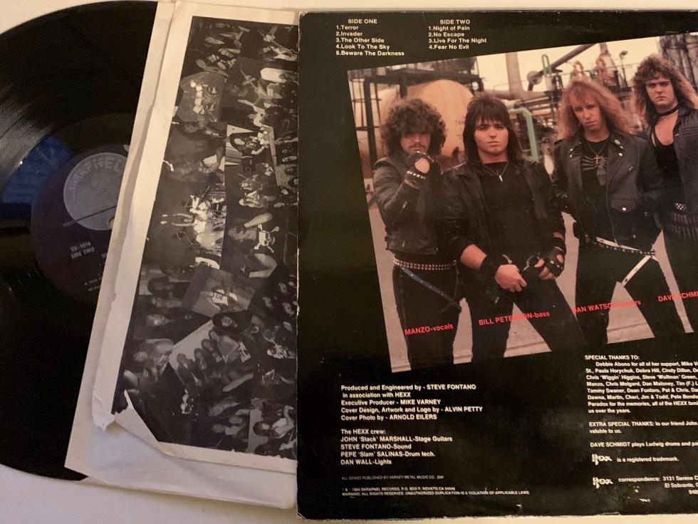 "Hexx Classic Album ""No Escape"""