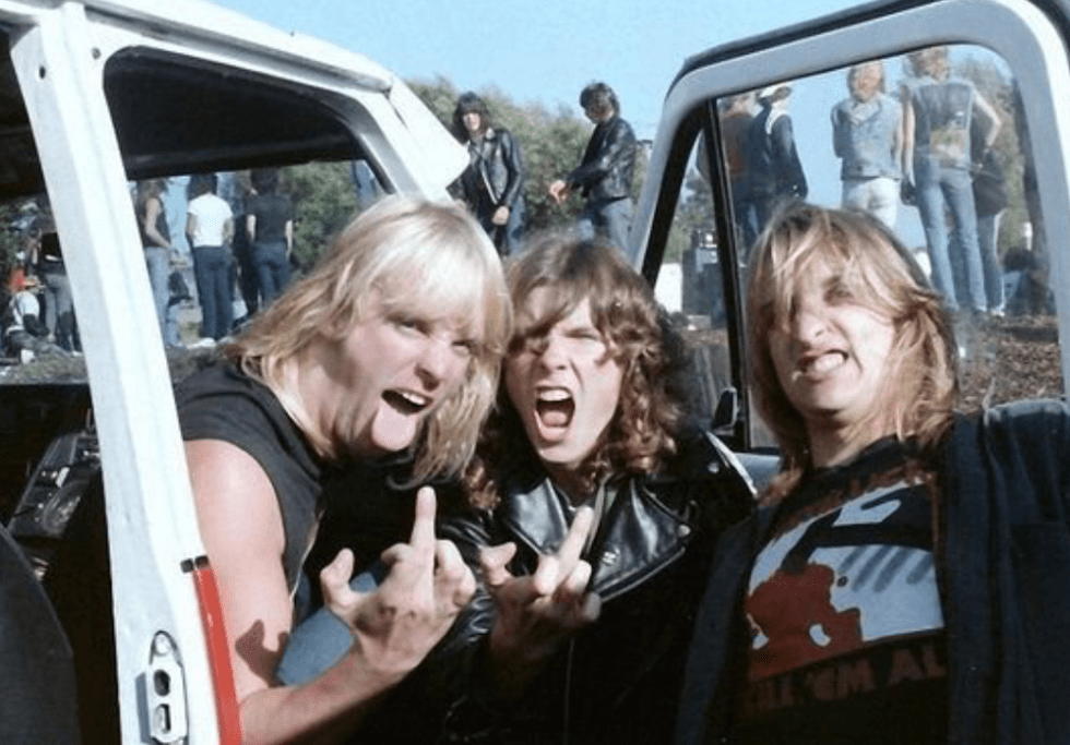 Jeff Hanneman from slayer in 1985Jeff Hanneman from slayer in 1985