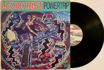 Ludichrist Powertrip Vinyl LP Thrash Metal ORIGINAL PRESSING Combat 88561-8246-1