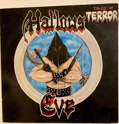 Hallows Eve - Tales Of Terror LP Metal Blade Records MBR 1042 1st Press RARE