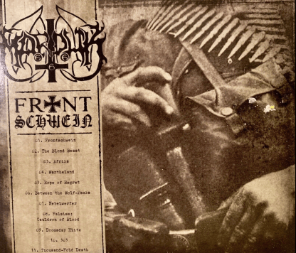 Marduk - 2015 Frontschwein CD Black Metal Norway Century Media
