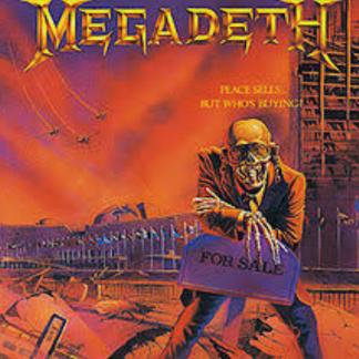 MEGADETH PEACE SELLS