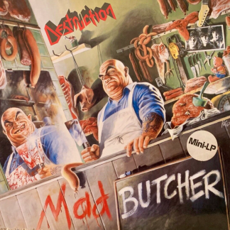 destruction mad butcher ep 45 rpm German thrash metal