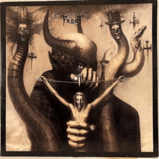 Celtic Frost - To Mega Therion 1st Press Vinyl Combat ‎MX 8091 Thrash Metal