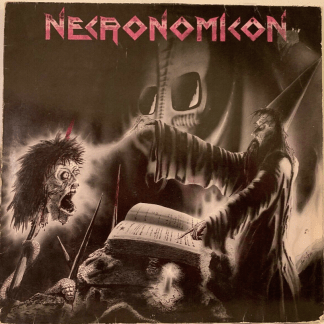 Necronomicon ‎- Apocalyptic Nightmare 1987 Orig Scratchcore ‎805 269-938 Germany 2