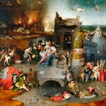 The Temptation of St Anthony: Hieronymus Bosch c1495-1515