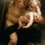 Saturn Devouring His Son Peter: Paul Rubens