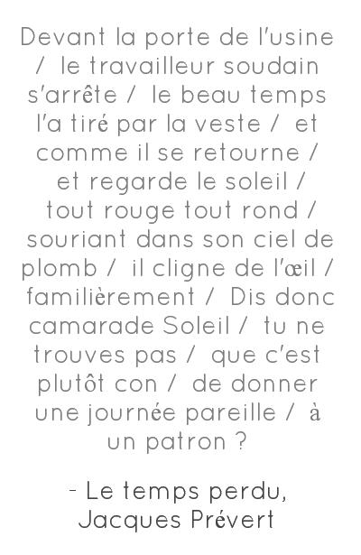 Lost Time / Le Temps Perdu