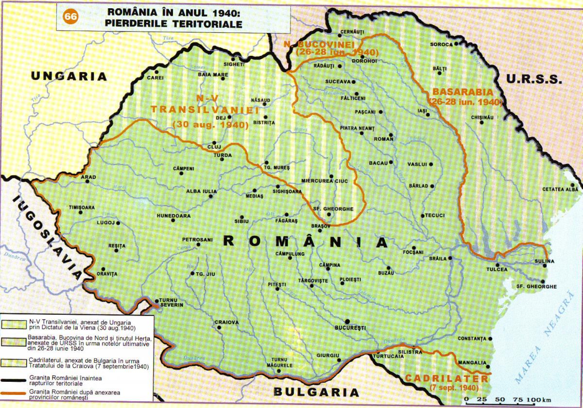 romania-1940-teritoriile-pierdute