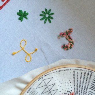 Some more embroidery.