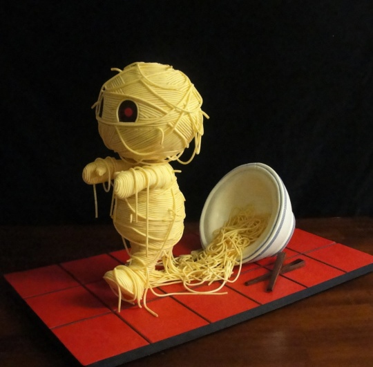 'Ramen'ses Return by Jessica Allard, last years 4th place Threadcakes baking contest winner.