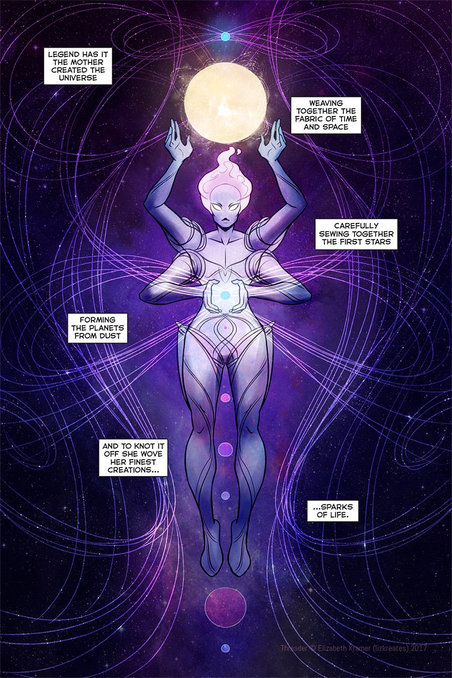 Cosmic mom