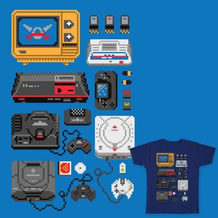 Sega Consoles by Melee Ninja