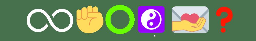 Threadling Emoji Sequence (White Infinity Symbol)