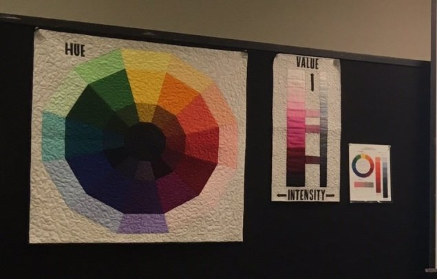Colour Theory  Judge Art Quilts