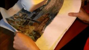Thread Painting Sample