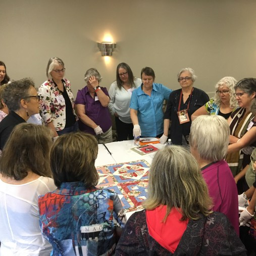 CQA workshop Judging Quilts
