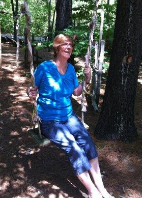 Kathy at Kiwi Gardens