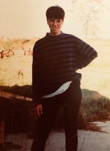 Young girl Bridget Oflaherty 1993