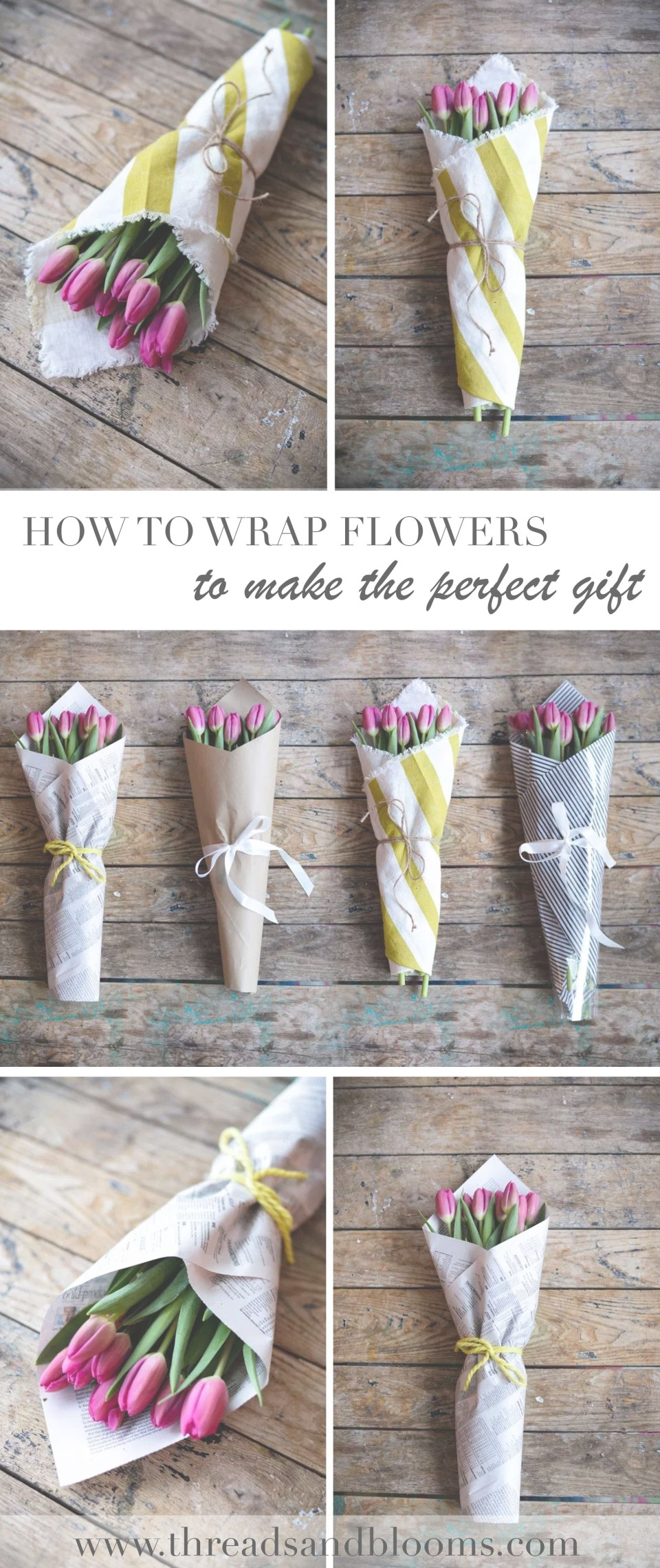 How to Wrap Flowers