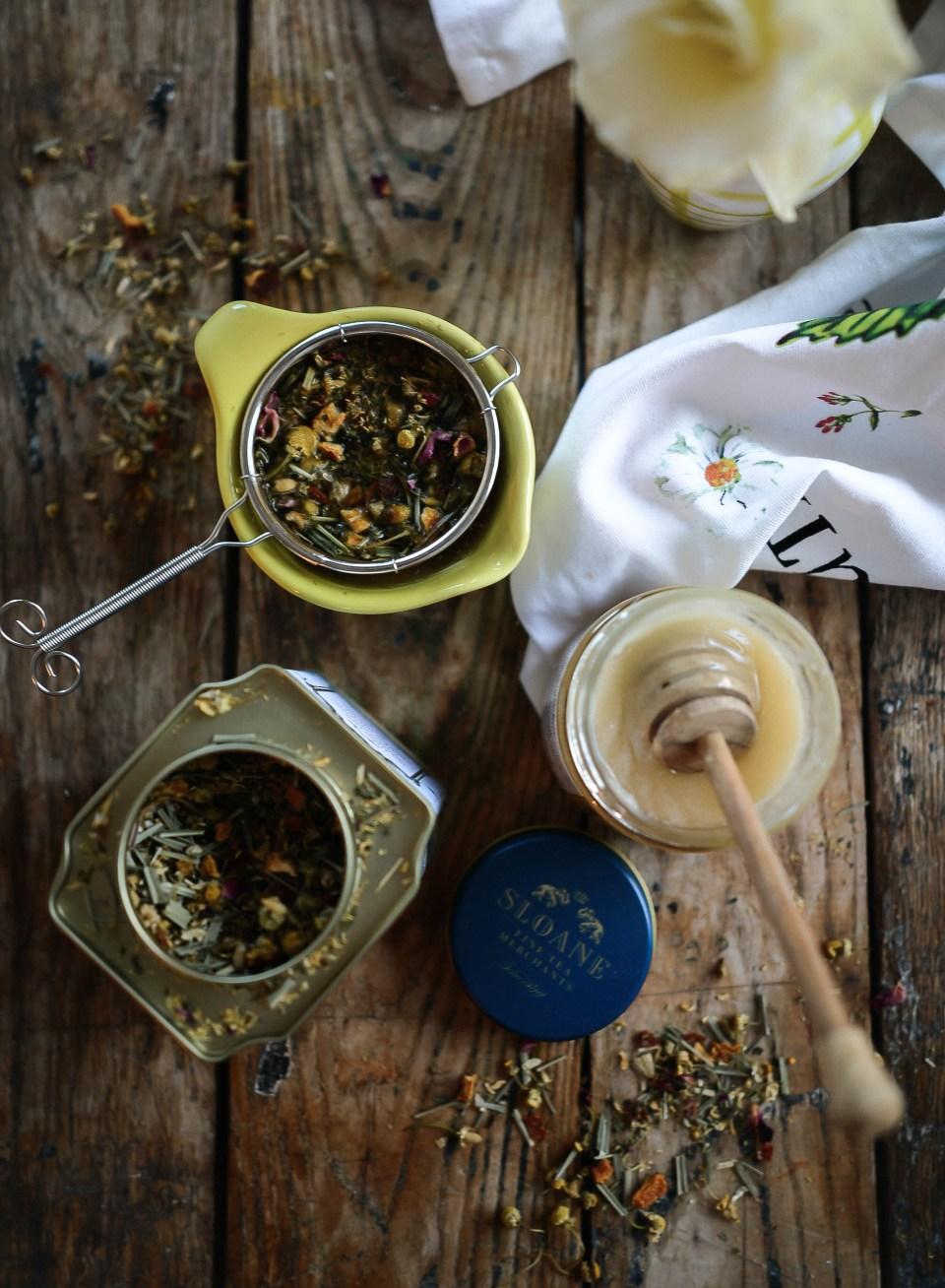 Cammomile Tea Latte Recipe
