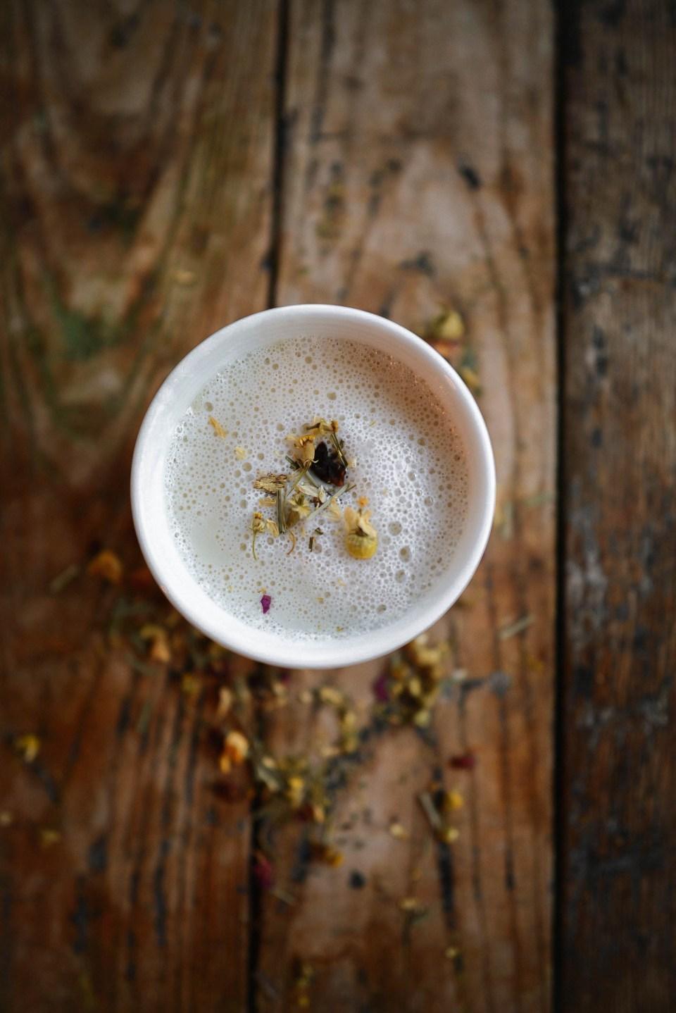 Camomile Tea Latte Recipe