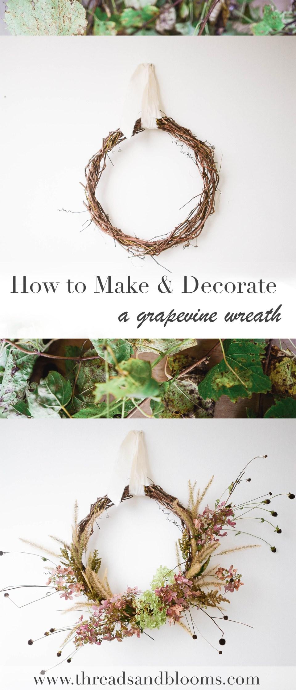 How to Make a Wreath - Fall DIY