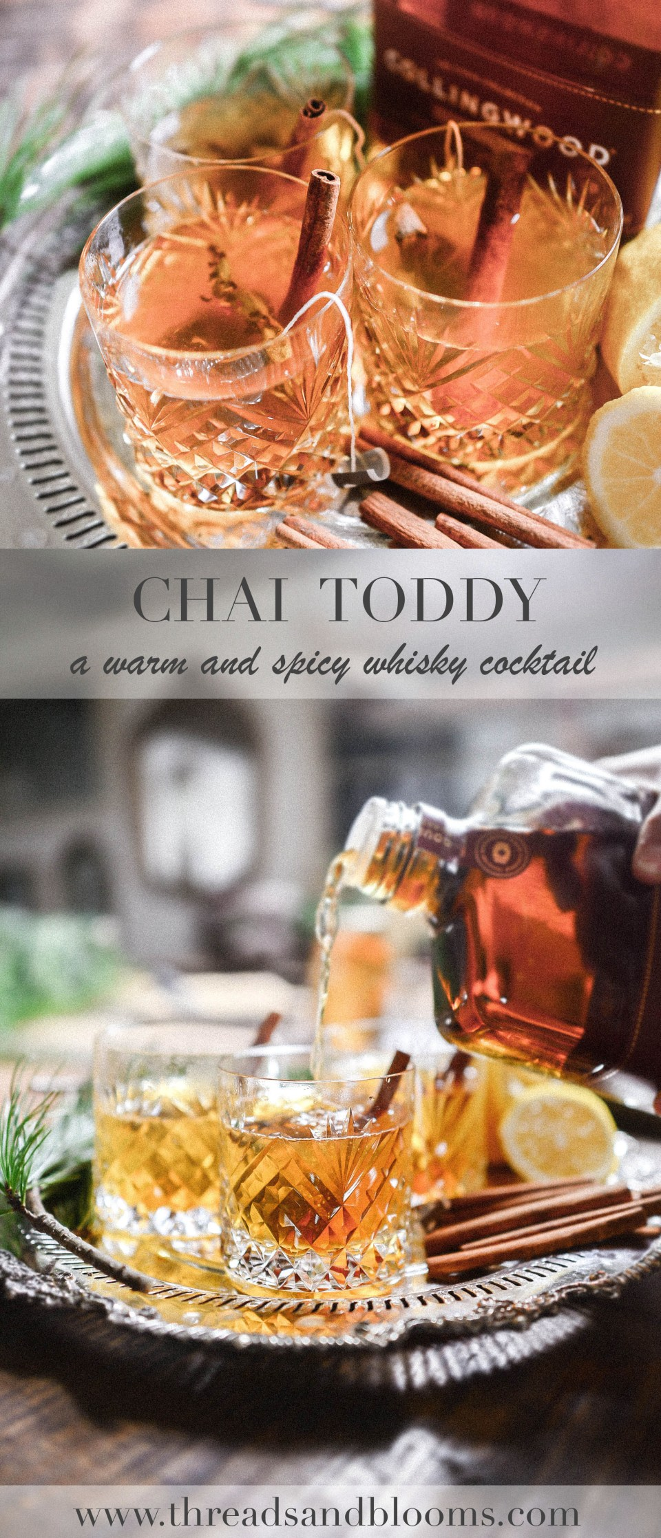 Chai Hot Toddy Recipe made with Collingwood Whisky