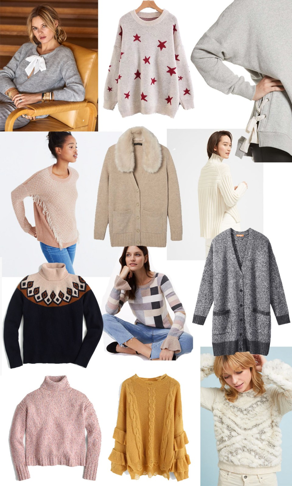 Cozy Sweaters for Winter 2017/18