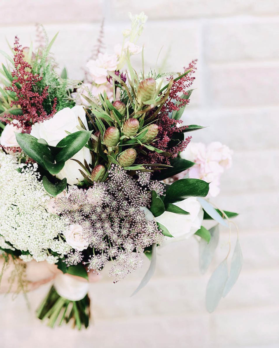 Fall Bouquet with Astilbe