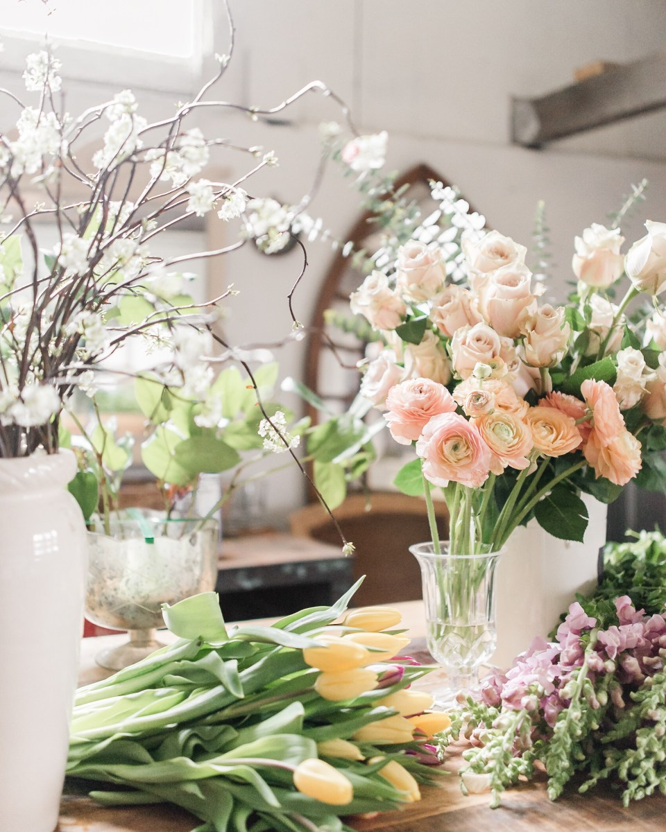 Beautiful Flowers - Ranunculus and Tulips