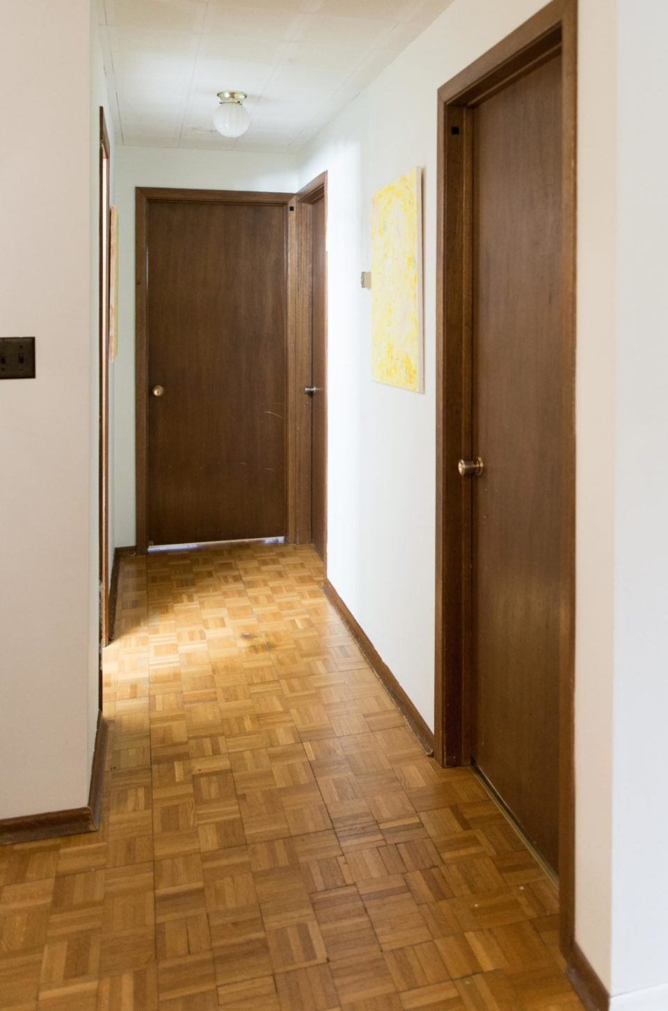 Hallway Makeover - BEFORE