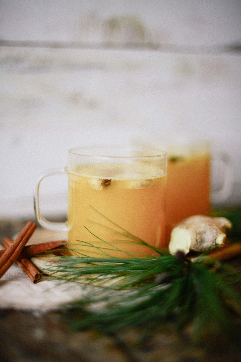 Pineapple ginger Punch - Delicious warm non alcoholic punch