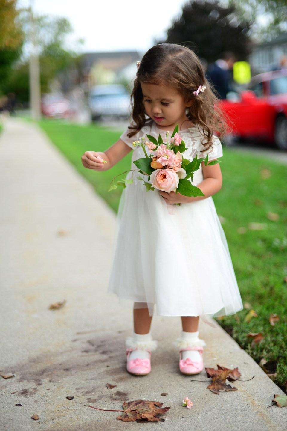Flower Girl Bouquet | Flower Girl | Niagara Wedding Florist