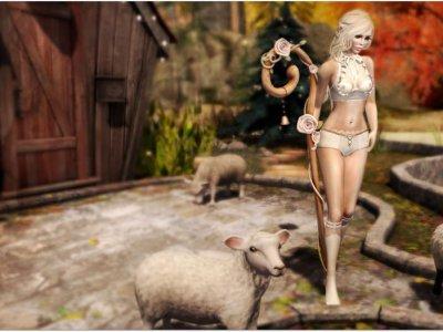 Bo Peep Counting Her Sheep
