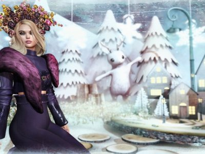 My Miniature Winter World