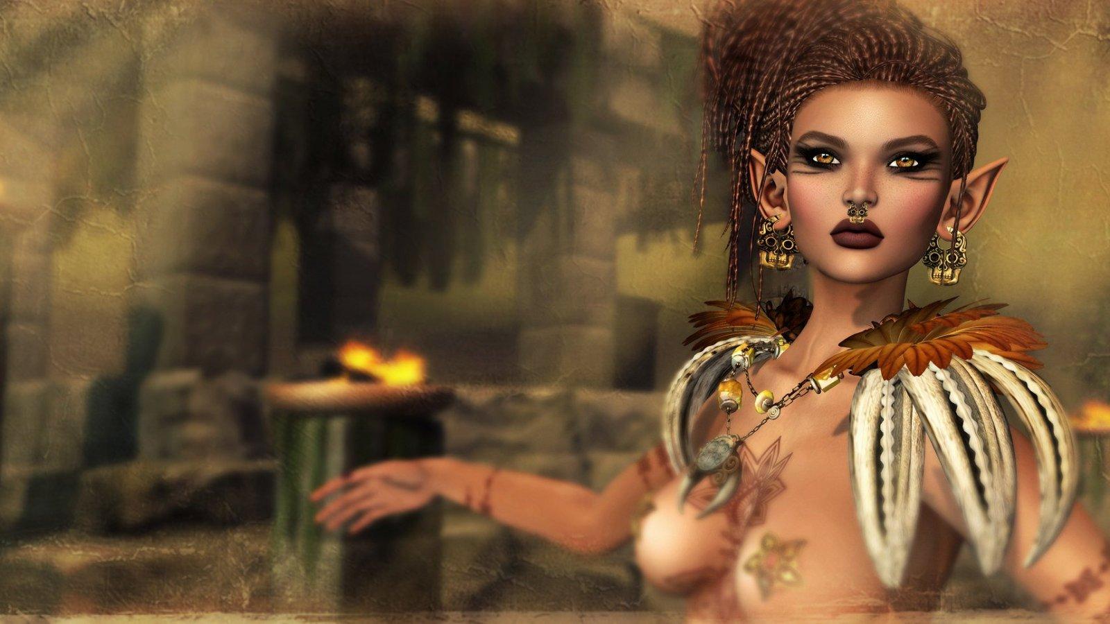 Fire Dragon Priestess