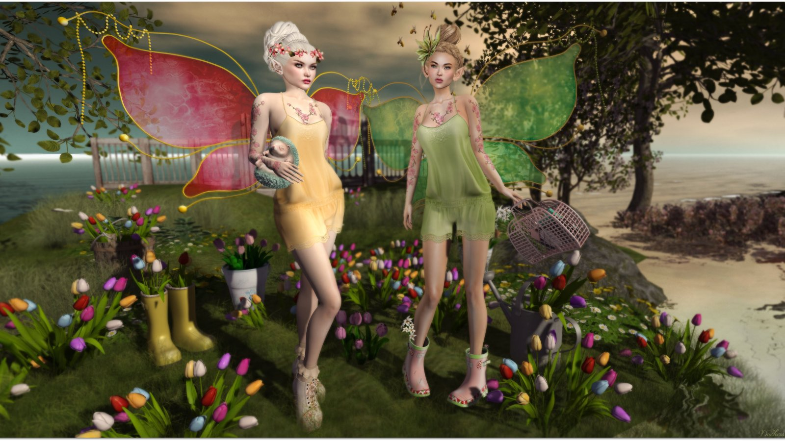 Tulip Fairies