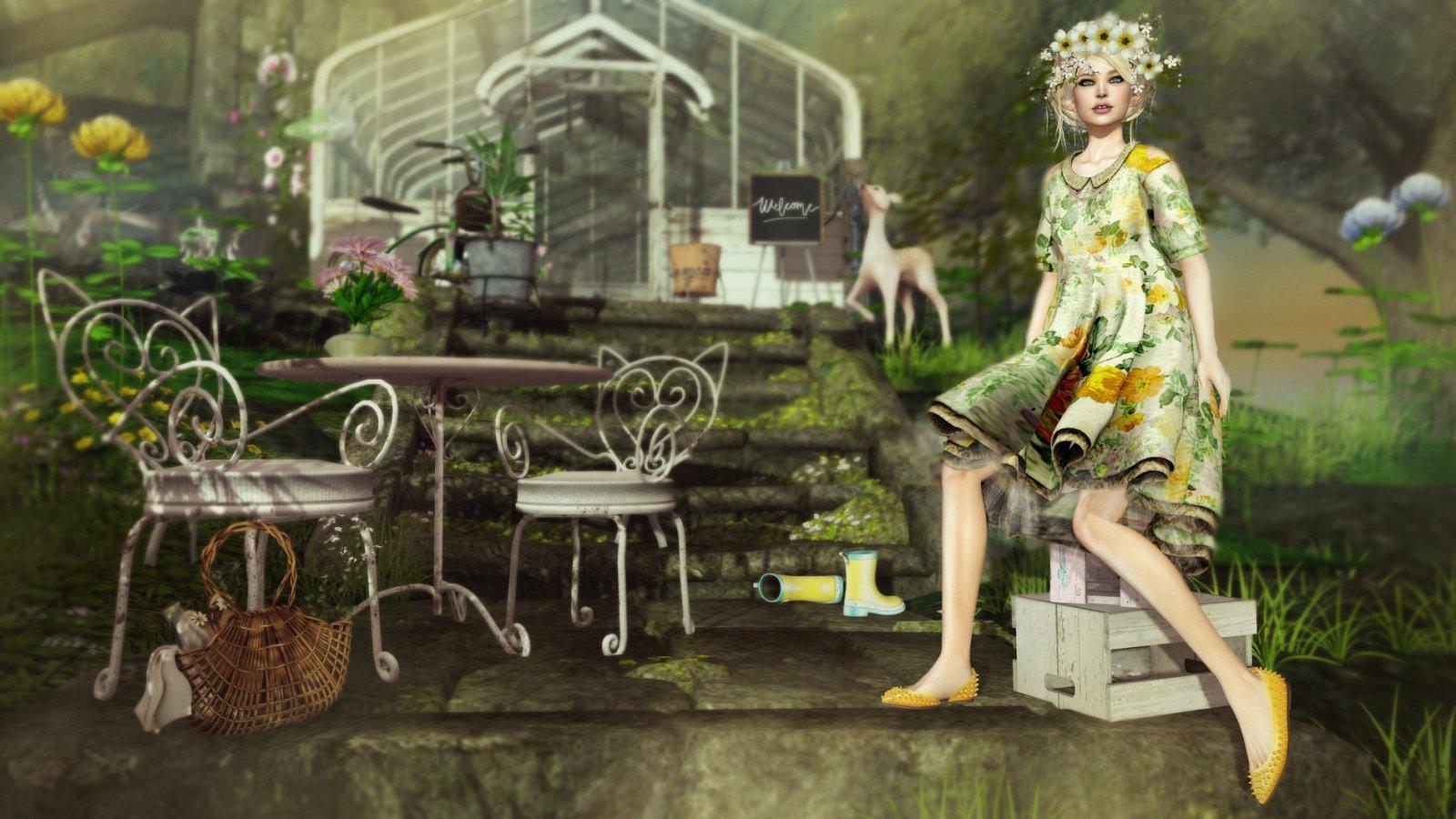 Welcome in My Garden