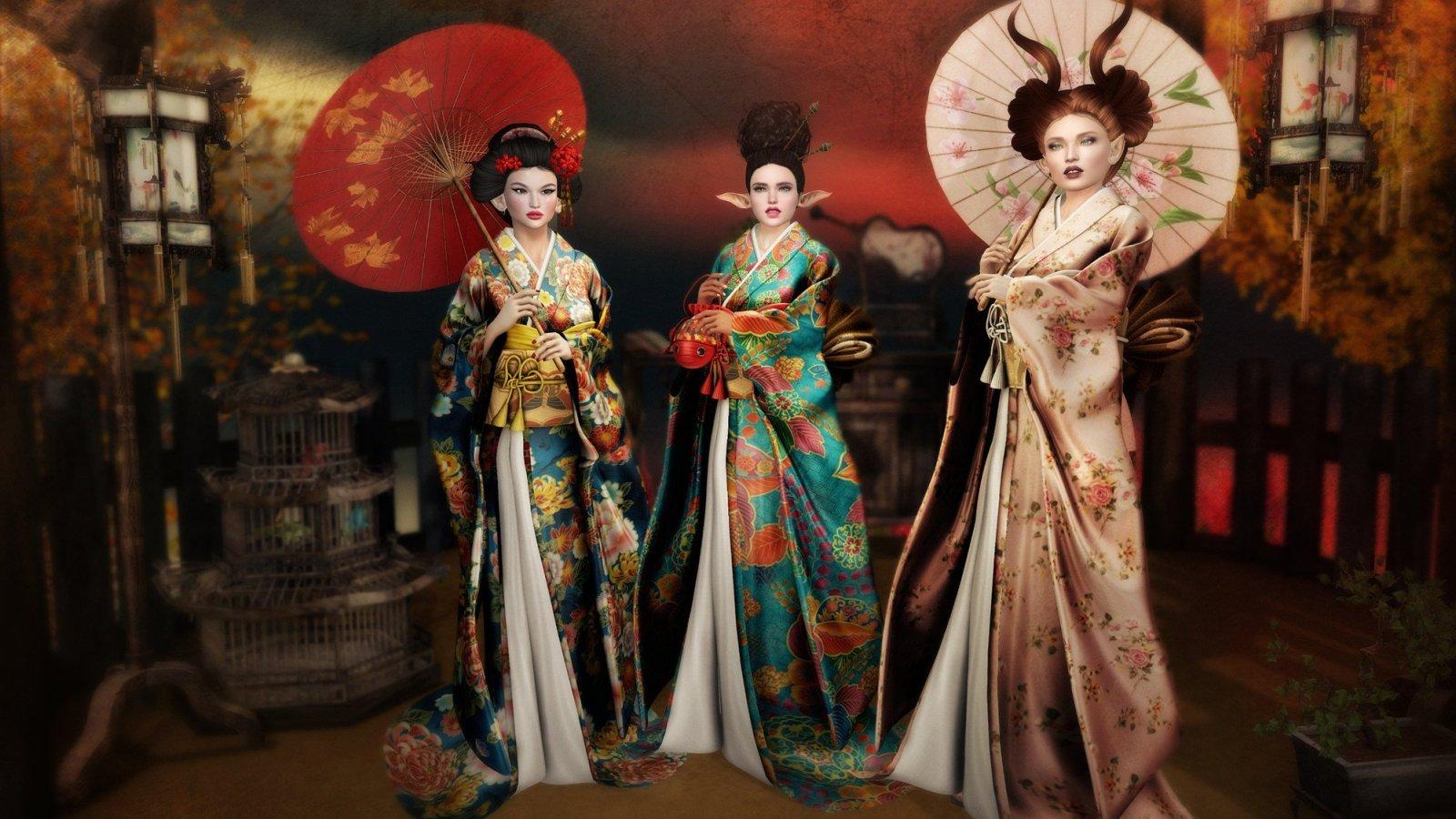 Kimono Sisters